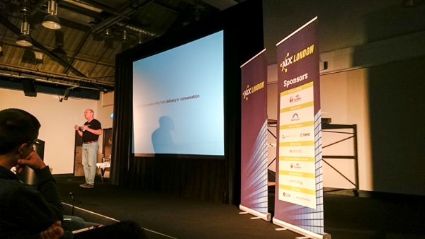 Jeff Sussna's (Ingineering.IT) keynote: 'From Design Thinking to DevOps and Back Again: Unifying Design and Operations'