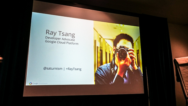 Ray Tsang's (Google) session: 'Java-based microservices, containers, Kubernetes – how to'