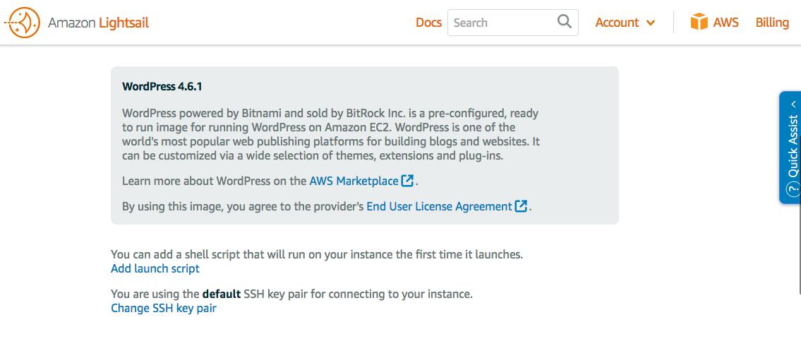 Migrating my WordPress Blog to Amazon AWS Lightsail - adrian