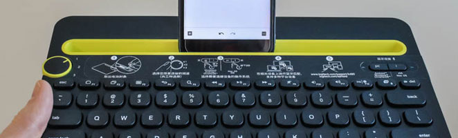 Living with the Logitech K480 Bluetooth Keyboard
